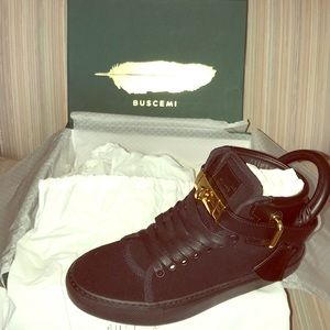 BNIB Buscemi Neoprene Lock Sneakers